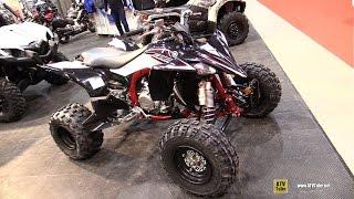7. 2015 Yamaha YFZ450R Special Edition Sport ATV - Walkaround - 2015 Salon Moto de Quebec
