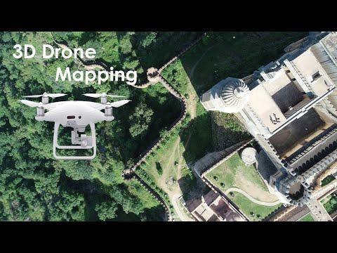 UAV Mapping – Produce DTM & orthomosaic from UAV imagery in agisoft photoscan