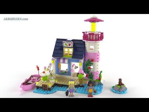 """Конструктор LEGO Friends41094 """"Маяк в Хартлейк Сити"""""""