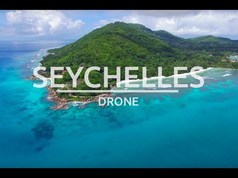 Seychelly - fantastické záběry pláží z drona