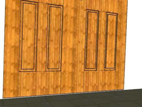 Puertas cuarterones madera videos videos relacionados - Carpinteria santa clara ...