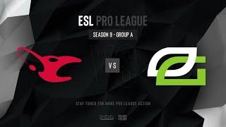 mousesports vs OpTic Gaming - ESL Pro League Season 9 EU- map2 - de_dust2 [PCH3LK1N & Smile]