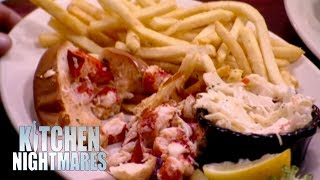 Gordon Shocked That Chef Isn't Allowed To Season His Food | Kitchen Nightmares