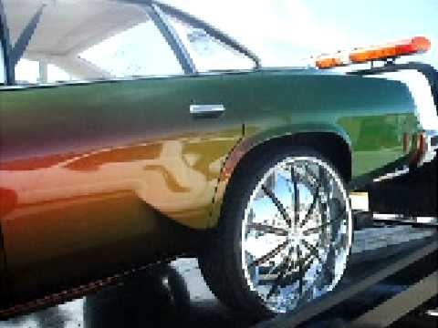 1977 Cutlass Big Block 454/ Outrageous Paint/ 26 inch rims