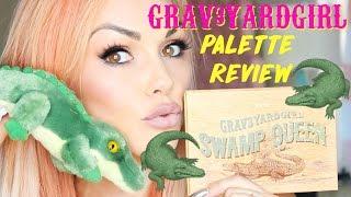 Makeup Review: Grav3yardgirl Swamp Queen Tarte Palette by Kandee Johnson