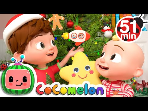 Tom Tom's Holiday Giving Song  + More Nursery Rhymes & Kids Songs - CoComelon