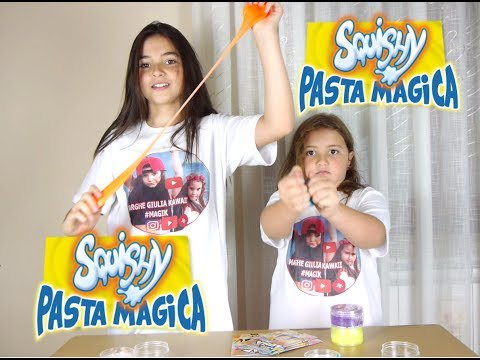 Squishy Pasta magica ( Edicola #Toys ) visto in TV by Marghe Giulia Kawaii (видео)