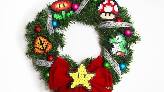 I wanted to make a Christmas wreath and decided to use perler beads like we used in my last video! Here is a festive way to use the perler beads! Perler Bead Tutorial: https://www.youtube.com/watch?v=abdYTNT6enUSocial Media:Facebook - https://www.facebook.com/Nerds-Crafts-429809453881170/Twitter - https://twitter.com/nerdsandcraftsInstagram - https://www.instagram.com/nerdsandcrafts/Tumblr - http://nerdsandcrafts.tumblr.com/ We Wish You A Merry Xmas by Audionautix is licensed under a Creative Commons Attribution license (https://creativecommons.org/licenses/by/4.0/)Artist: http://audionautix.com/  Deck the Halls B by Kevin MacLeod is licensed under a Creative Commons Attribution license (https://creativecommons.org/licenses/by/4.0/)Source: http://incompetech.com/music/royalty-free/index.html?isrc=USUAN1100368Artist: http://incompetech.com/