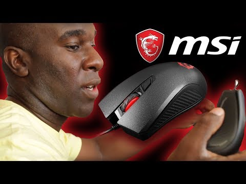 MSI Clutch GM10 USB PC Gaming Mouse Review