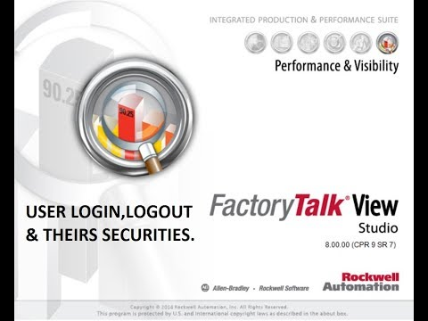 FactoryTalk View User Login,Logout & Securities