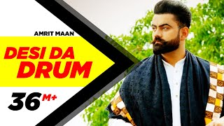 Video Desi Da Drum | Amrit Maan | Latest Punjabi Song 2015 | Speed Records MP3, 3GP, MP4, WEBM, AVI, FLV April 2019