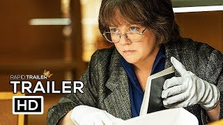 Video CAN YOU EVER FORGIVE ME? Official Trailer (2018) Melissa McCarthy Movie HD MP3, 3GP, MP4, WEBM, AVI, FLV Maret 2018
