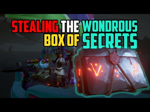 Sea of Thieves: Stealing the Box of Wondrous Secrets [Rarest Chest]