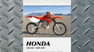 1. Clymer Manuals Honda XR650R XRR XR Manual Shop Service Repair Manual Maintenance Video
