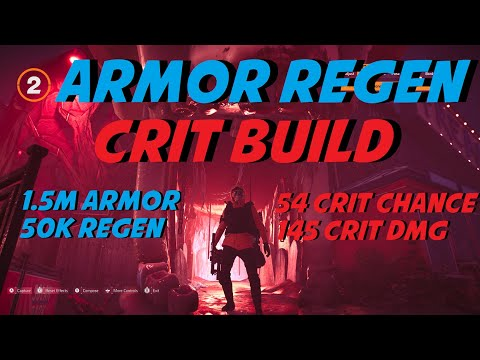 *BEST SOLO HYBRID BUILD*  | Armor Regen Crit Build | The Division 2 PVP/PVE Build & Gameplay