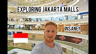 EXPLORING INSANE JAKARTA MALLS (SEVEN MALLS IN ONE DAY)