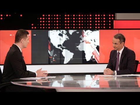 Video - Μητσοτάκης: Τυπικές οι σχέσεις μου με τον Μαρινάκη, εγώ δεν έχω επαφές με τη διαπλοκή
