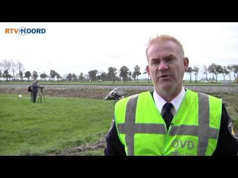 Automobilist verongelukt na botsing trein Winsum