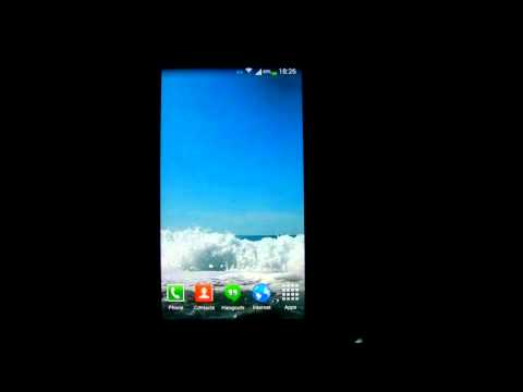 Video of Waves Live Wallpaper HD 18