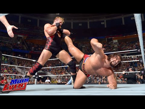 event - The heated rivalry between Jack Swagger and Rusev continues on WWE Main Event.