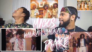 Migos - Walk It Talk It ft. Drake   FVO Reaction