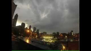 Uptown Denver Sunset Timelapse - GoPro Hero2 HD