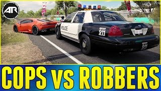 Nonton Forza Horizon 3 Online   Cops Vs Robbers     Ford Crown Victoria Police Build  Film Subtitle Indonesia Streaming Movie Download