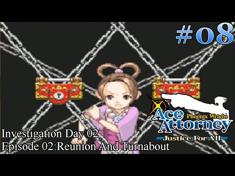 Phoenix Wright: Ace Attorney - Justice For All Walkthrough Episode 08: Pearl's Alibi