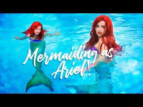 Mermaiding as Ariel! Cosplay Showcase