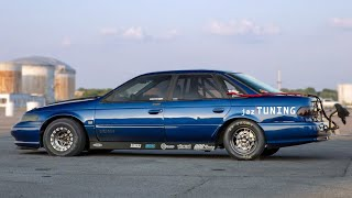 He created the worlds only 1,000HP Ford Taurus SHO! by 1320Video