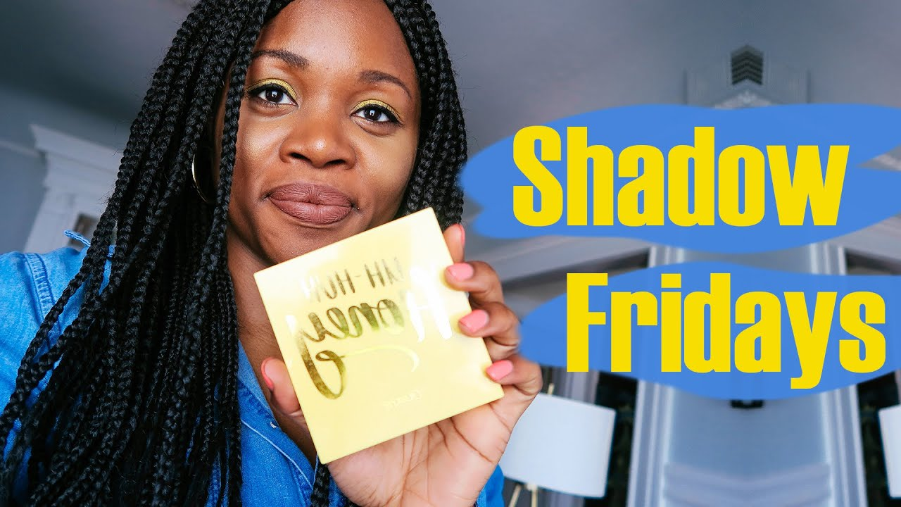 SHADOW FRIDAYS #1 & TRYING COLOURPOP'S UH HUH HONEY PALETTE 🍯| iamsohello