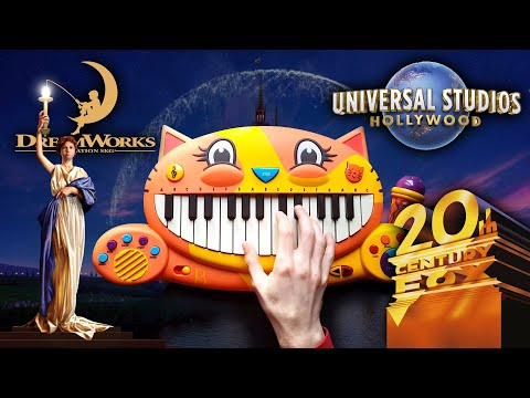 TOP 5 MOVIE INTROS  on CAT PIANO