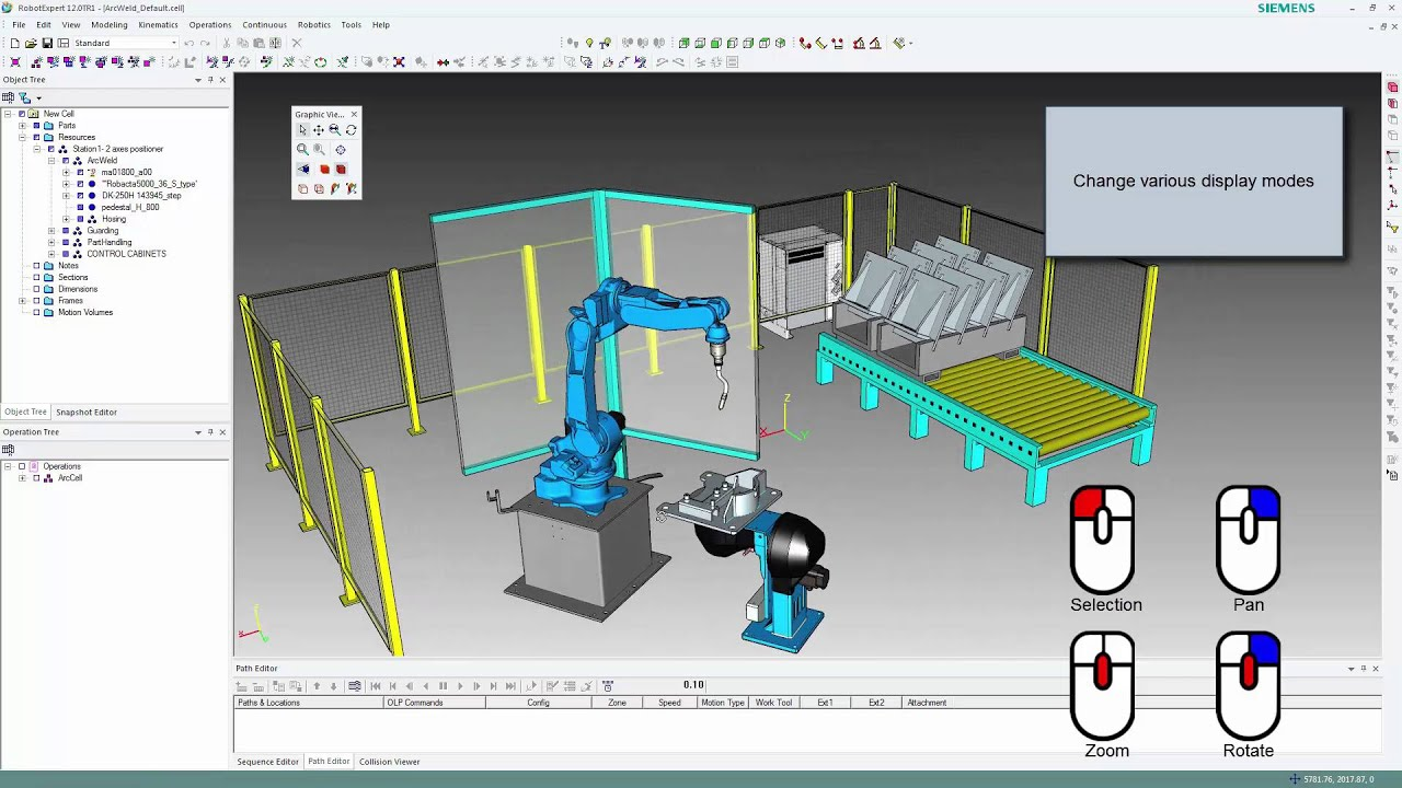 RobotExpert Getting Started 2 - Graphic Manipulation