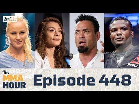 The MMA Hour: Episode 448 (w/Montaño, Shevchenko, Din Thomas, Eddie Bravo)