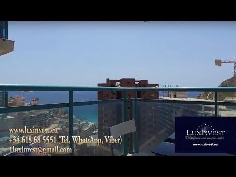 Уютная квартира в аренду в Испании с красивым видом на море, 100м от моря, с 1 спальней
