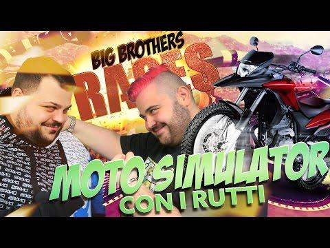 BIG BROTHERS RACES : Moto Simulator con i Rutti | GTA 5