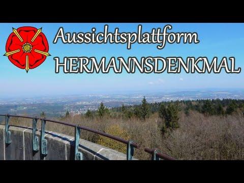 Aussichtsplattform Hermannsdenkmal in Detmold - www.lipperland.de thumbnail