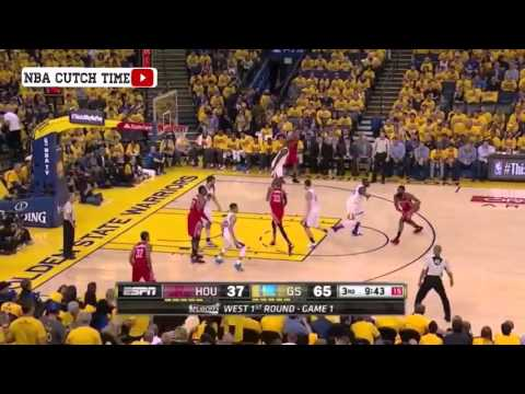 Golden State Warriors VS Houston Rockets - Full Highlights | April 16, 2016 | Game 1 | 2016 Playoffs