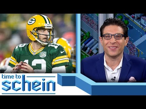 Video: Tom Brady & Aaron Rodgers compliments | Time to Schein