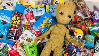 HUGE Baby Groot Surprise Toy Opening Guardians of the Galaxy Toys for Boys Superhero Kinder Playtime  Today on Kinder Playtime we opening a ton of Surprise Toys found by our friend Baby Groot from Guardians of the Galaxy!  The Guardians of the Galaxy have asked us to take special care of their friend, Baby Groot, while they are out saving the Galaxy, but we weren't super successful.  After finding and saving Baby Groot we find that he has found so many blind bags, surprise eggs, and other surprises to open!  We have tons of toys for boys today on Kinder Playtime!Toys featured into today's Guardians of the Galaxy toy opening include:Marvel Guardians of the Galaxy Dancing GrootSilly StringZomlings in the Town Series 1 Blind BagsGuardians of the Galaxy Mashems Surprise EggsMighty Morphin Power Rangers Figural Keyring Blind BagSilly Sludge Slime Surprise EggMario Kart 8 Deluxe Rubix CubeDisney Crossy Road Series 1 Surprise ToysFungus Amungus Series 2 Surprise EggMadballs Series 1 Blind BagMighty Morphin Power Rangers Pint Size Heroes Blind BagLEGO Batman Minifigure Blind BagDespicable Me Minions Mineez Surprise EggsTeenage Mutant Ninja Turtles Ooshies Blind BagMarvel Superhero Ooshies Blind BagThomas and Friends Mashems Surprise EggThomas and Friends Minis Blind BagHot Wheels Mystery Models Blind BagMarvel TSUM TSUM Series 2 Blind BagPJ Masks Surprise Blind BagImaginext DC Superhero Series 2 Blind BagMarvel Superhero Adventures Blind BagMyMoji DC Comics Superhero Series 1 Blind BagToy Story Minis Blind BagMore Kinder Playtime Surprise Toy Openings!HUGE Teenage Mutant Ninja Turtles Surprise Bucket TMNT Super Heroes Toys for Boys Kinder Playtimehttps://www.youtube.com/watch?v=YRG8z35baq8HUGE LEGO Batman Surprise Present Super Hero Blind Bags Toys for Boys Kinder Playtimehttps://www.youtube.com/watch?v=X3cB4d14LywHUGE Spiderman Surprise Present for Kids Super Hero Toys for Boys Pokemon Minecraft Kinder Playtimehttps://www.youtube.com/watch?v=CjWaApSDUTkHUGE Paw Patrol Surprise Present from Santa Claus Christmas Toys for Boys Blind Bags Kinder Playtimehttps://www.youtube.com/watch?v=_B9yb42I2ioHUGE Teenage Mutant Ninja Turtles Advent Calendar Surprise Toys TMNT Christmas Toys Kinder Playtimehttps://www.youtube.com/watch?v=gKSBN5eslRwHUGE Tonka Truck Surprise Toys Bucket Toy Truck Surprise Egg Trucks Toys for Boys Kinder Playtimehttps://www.youtube.com/watch?v=ODWi1pX6n_UHUGE Minions Surprise Egg Despicable Me Kevin Surprise Toys Funny Toy for Kids Kinder Playtimehttps://www.youtube.com/watch?v=CEQakilk81YHUGE FINDING DORY SURPRISE POOL Toy Surprise Eggs Disney Toys Boy Toys Girl Toys Kinder Playtimehttps://www.youtube.com/watch?v=dJV9lkevzgoHUGE Popcorn Surprise Bucket Toys Finding Dory Frozen Elsa TMNT Ninja Turtles Kinder Playtimehttps://www.youtube.com/watch?v=ZTyAxUjLhd0Huge Mashems & Fashems Surprise Toy Finding Dory Ninja Turtles Batman Paw Patrol MLP Kinder Playtimehttps://www.youtube.com/watch?v=I3nj3BCvjxoHUGE Finding Dory Surprise Box & Toy Bag Elmo Toys Shopkins Blind Bags Disney Toys Kinder Playtimehttps://www.youtube.com/watch?v=W0g7IPl3nHoHUGE Avengers Captain America Surprise Toy Box Yo-Kai Watch Toy Cars Spiderman Toys Kinder Playtimehttps://www.youtube.com/watch?v=pdTtd85gFH0HUGE Star Wars Surprise Egg Darth Vader Surprises BB-8 Toy Mario Brothers Hot Wheels Kinder Playtimehttps://www.youtube.com/watch?v=yGfQ5yXntekHUGE Ninja Turtles Surprise Bucket TMNT & Kid Surprise Toys for Boys Cars Kids Toy Kinder Playtimehttps://www.youtube.com/watch?v=AaAj_50wotM
