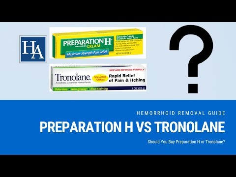 Preparation H vs Tronolane Reviews | Should You Buy Prepration H or Tronolane?
