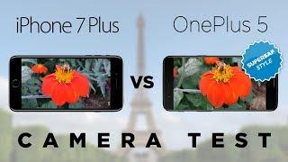 OnePlus 5 vs iPhone 7 Plus Camera Test Comparison