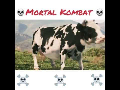 Смертельная битва-💀 Mortal Kombat 💀 The Funny Man vs  Cow Fight
