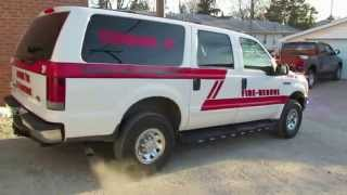 SirenWorld - Randolph Twp Fire - 2004 Ford Excursion - Command40