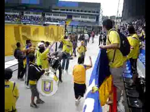 Frente a Colo-Colo el 22-11-09 - Los del Foro - Universidad de Concepción