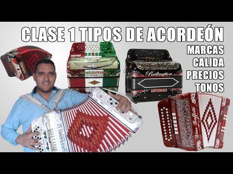 aprender a tocar acordeon - En este video encontrarás una reseña de varias marcas de acordeón, además de asesoría sobre que puntos tomar en cuenta antes de comprar un acordeón y puedas ...
