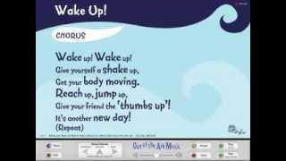 Ecton United Kingdom  City new picture : Wake Up! - Words on Screen™ Original - School Songs