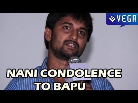 Actor Nani Condolence to Bapu