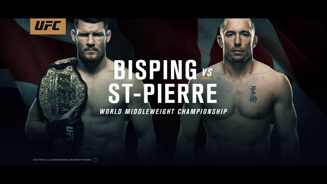 Michael Bisping vs Georges St Pierre | Live Like Legends HD UFC 217