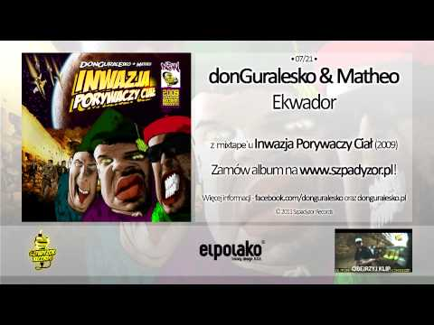 Tekst piosenki DonGuralEsko - Ekwador po polsku